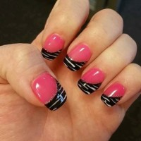 Follow up: Lady with the Hot Pink Zebra Nails